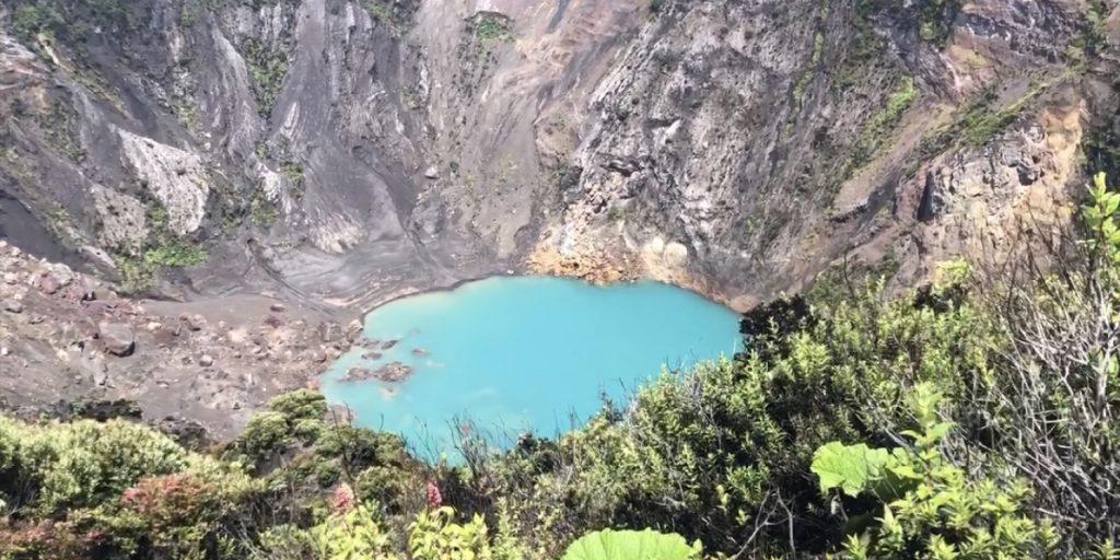 Crater Irazú volcano - Costa Rica